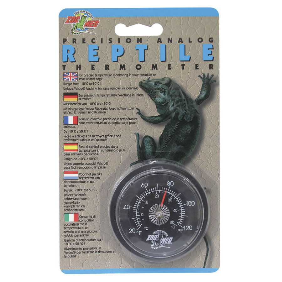 ZM Analogue Reptile Thermometer, TH-20 Image