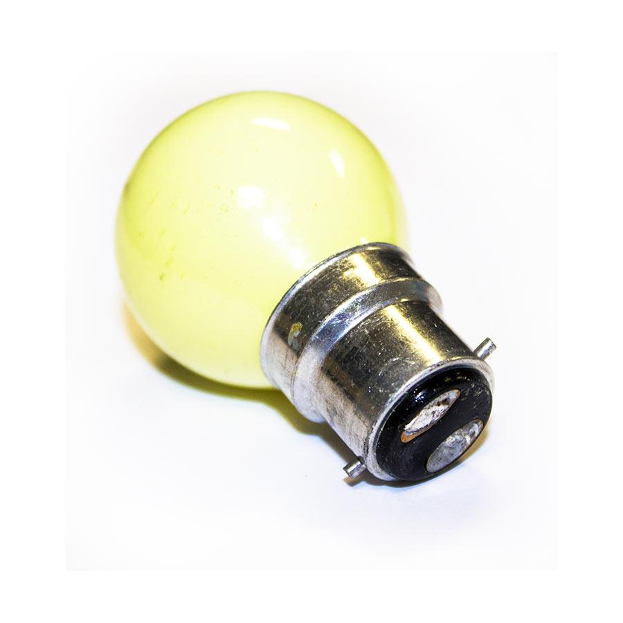 PR Yellow Golfball Bulb 25W BC (Bayonet) Image