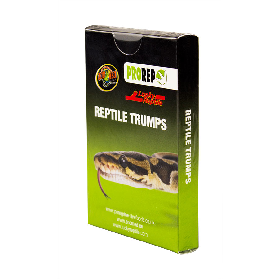 Reptile Trumps Card Game (single pack) Image